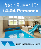 Exklusive Poolh�user in D�nemark bei Luxusferienhaus