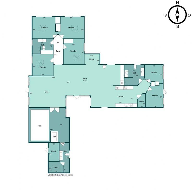 Ferienhaus 1174 - Hausfoto 8