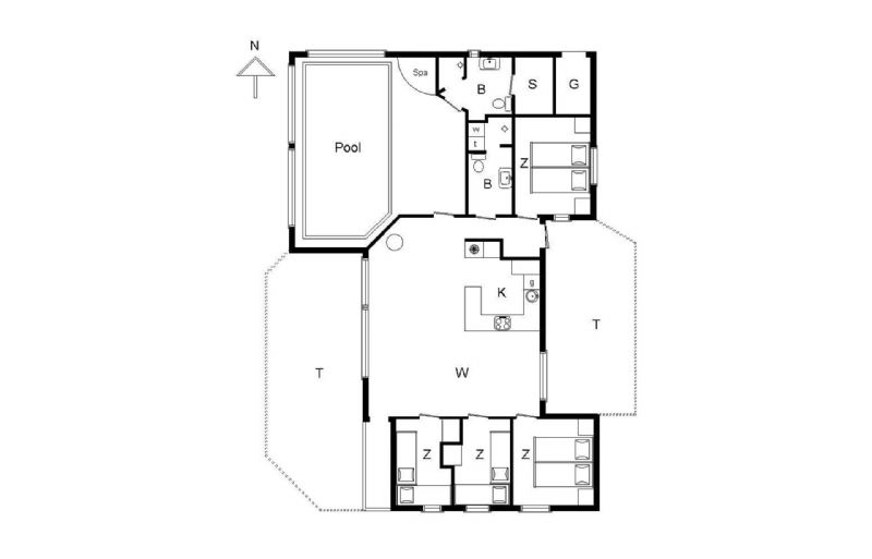 Ferienhaus 1285 - Hausfoto 8