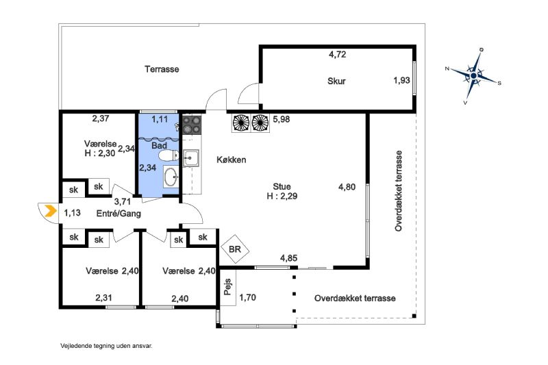 Ferienhaus 2275 - Hausfoto 8