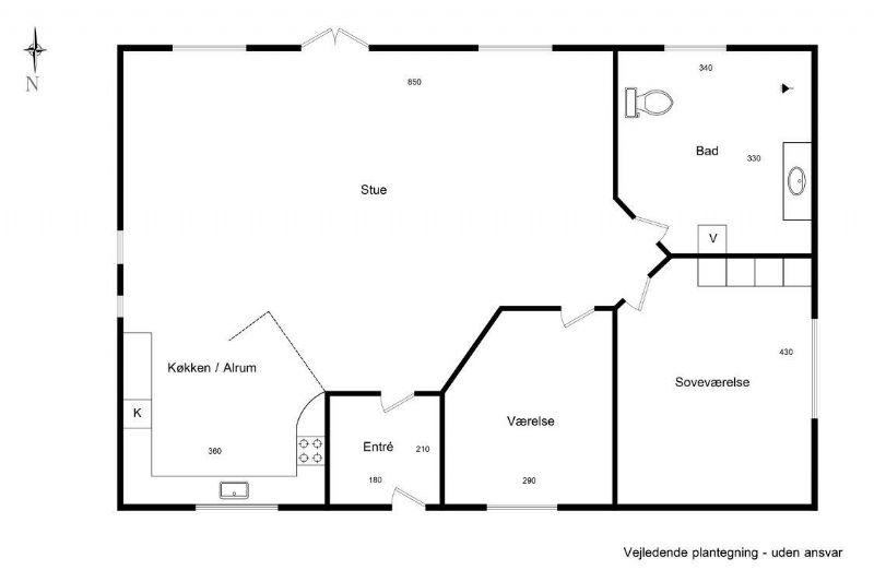 Ferienhaus 2518 - Hausfoto 8