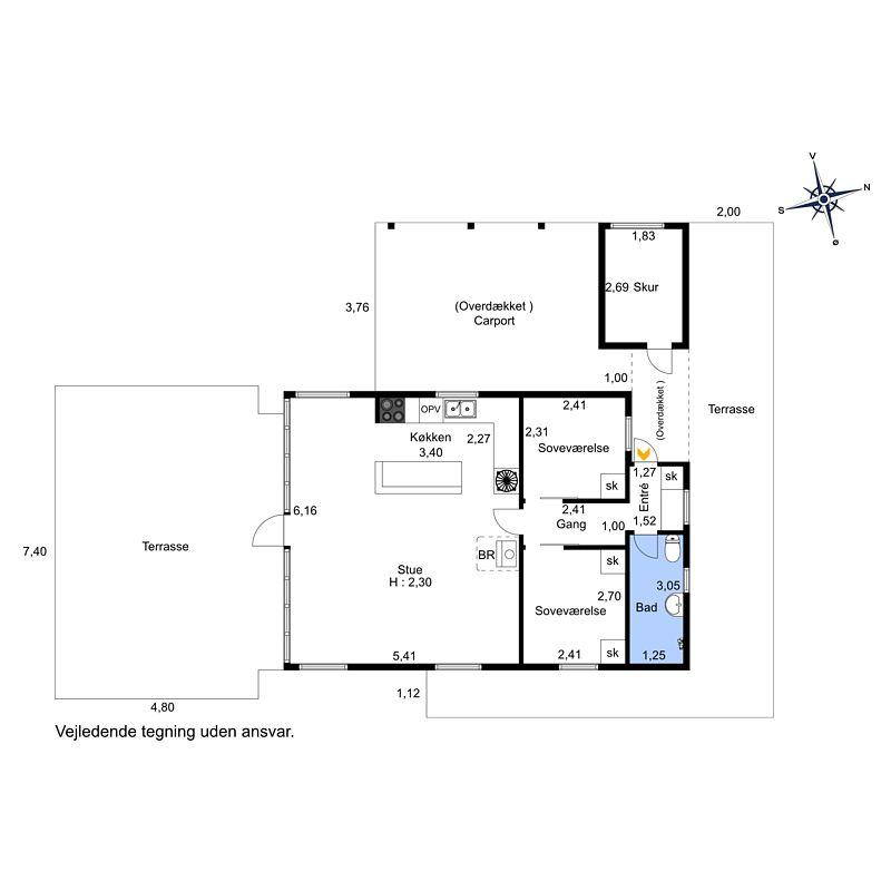 Ferienhaus 2552 - Hausfoto 9